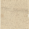 Letter of 25 February 1782 from Samuel Crisp to Burney