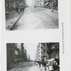 Street views of East 110th Street, looking west between Park Avenue and Madison Avenue, in East Harlem, New York, circa 1910s