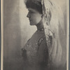 The Princess Troubetzkoy (Amelie Rives). From the latest photograph of the great American author