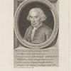 [Inscription in frame around portrait:] Natus in insulis canariensibus XVIII Kal. Ian. An. MDCCII Obit Matritis X KaL. Sept. An. MDCCLXXI