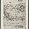 "Letter addressed to ""My Dear Brother"" signed by John Wesley"
