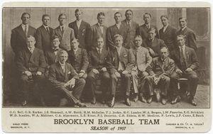 Brooklyn Baseball Club, 1907