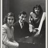 Maro and Anahid Ajemian with Alan Hovhaness at piano
