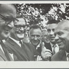 Benny Goodman with Nikita Khrushchev and aides