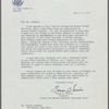 Letter from State Department to George Avakian