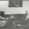 George Avakian with Virgil Thomson