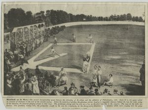 Baseball as it was -- second championship game between the Atlantics of Brooklyn and Athletics of Philadelphia in 1866