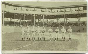 Philadelphia Baseball Club, 1884, Mulvey, Coleman, Farrar, Andrews, Manning