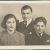 Mary, George, and Aram Avakian portrait