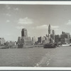 View from the Liberty Street-CNF ferry on lower Manhattan
