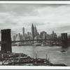 View from the Manhattan Bridge towards lower Manhattan