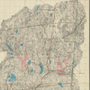 Aqueduct Commissioners topographical map of Croton Water Shed