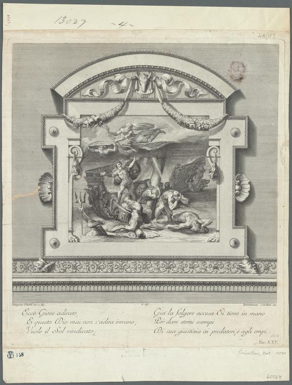 Fascinating Historical Picture of Pellegrino Pellegrini in 1701