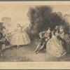 Melle Cochois dansant devant ses soeurs (Château de Potsdam)