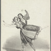 Nathalie Fitzjames and Auguste Mabille dancing in Giselle
