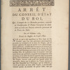 Arrêt du Conseil d'état du roi, qui, à compter du 10 novembre prochain, convertit en gratifications et primes l'exemption du demi-droit accordée aux denrées coloniales provenant de la traite des noirs