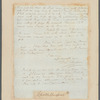 Autographed letter from Thomas Clarkson to James Phillips