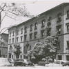 View of Strivers' Row, at 203-207 West 139th Street, Harlem, New York, 1954