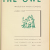 The Owl: June 1937