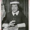 "Portrait of Betty Granger, host of the WLIB (New York) talk radio program ""At Home With Betty Granger,"" circa 1955"