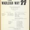 The Wadleigh Way: 1977