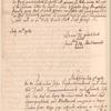 Complaint to Robert Monckton