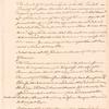 Draft of letter