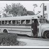 School bus, Gibson, Valley Stream, New York