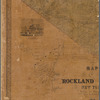 Map of Rockland County, New York