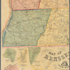 Map of Rensselaer County, New York: from actual surveys