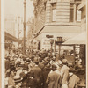 Street scenes - Shoppers and crowds