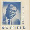 Portrait of baritone William Warfield from concert program cover, circa 1953