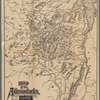 Map of the Adirondacks, as reached by the Delaware and Hudson Canal Companys Railroad