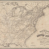 Disturnell's new map of the United States and Canada: showing all the canals, rail roads, telegraph lines and principal stage routes