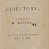New York City directory, 1857/58