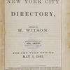 New York City directory, 1862/63