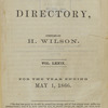 New York City directory, 1865/66