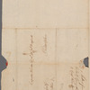 Letter to Carpenter Wharton or Capt. Jeremiah Wadsworth