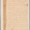 Letter to Gen'l. [John] Sullivan