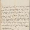 La Comtess des Essarts to George Washington