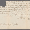 Letter to Bushrod Washington