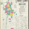 Insurance maps of Tarrytown, New York [Cover page with Street index]