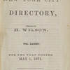 New York City directory, 1870/71