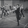 Ann Reinking in rehearsal for the stage production Dancin'