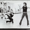 Terrence Mann, Cynthia Onrubia and other dancers in rehearsal for the stage production Cats