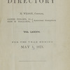 New York City directory, 1872/73