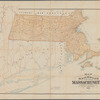 Map of the railroads of the state of Massachusetts: accompanying the report of the railroad commissioners : 1887