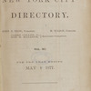 New York City directory, 1876/77