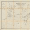 Map of the coast of Massachusetts and Rhode Island
