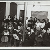 Amateur orchestra, organized and taught by the Federal Music Project's Music Education Division at the Central Brooklyn Music Center